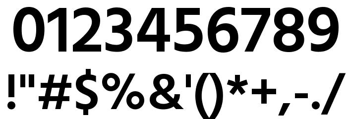 Hind Mysuru SemiBold Font OTHER CHARS
