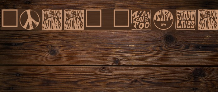 Hippy Stamp Font examples