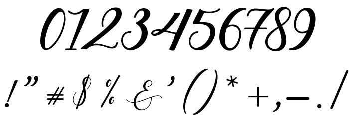 HitersScript フォント その他の文字