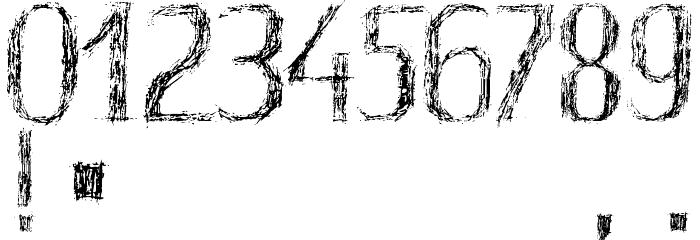 HKH Old Glyphs Demo Font OTHER CHARS