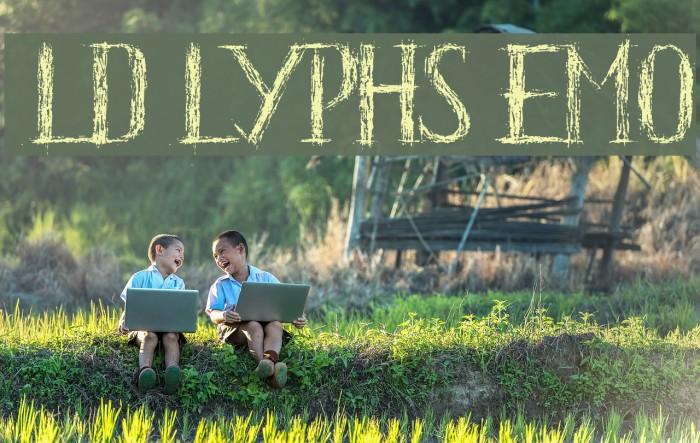HKH Old Glyphs Demo Font examples