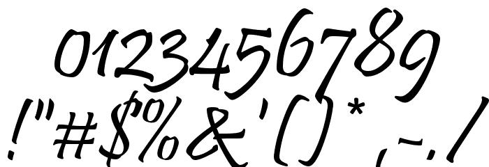 HL Nhenhang フォント その他の文字