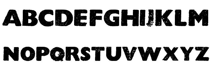 HOCUS FOCUS Bold フォント 大文字