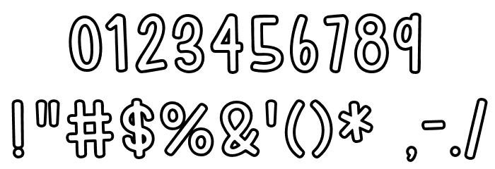 HodgepodgeryOutline لخطوط تنزيل حرف أخرى