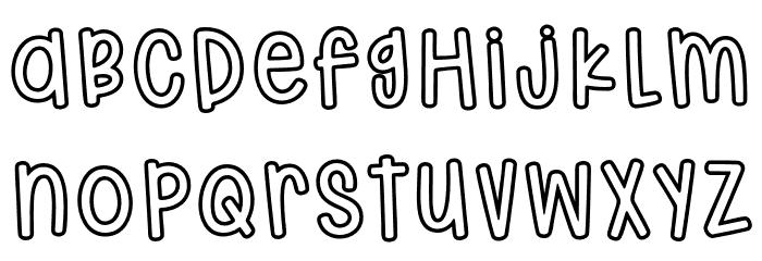 HodgepodgeryOutline لخطوط تنزيل صغيرة