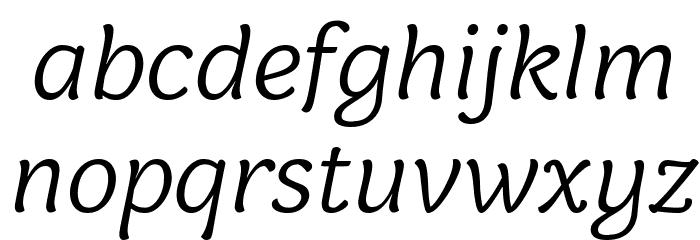 Holden Trial Light Italic Schriftart Kleinbuchstaben