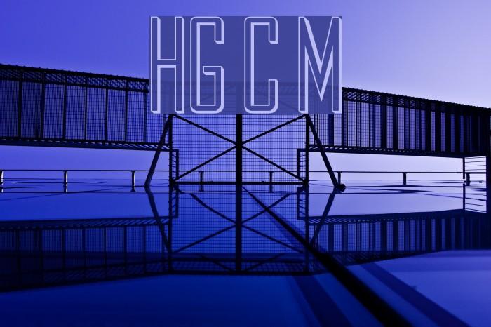 HollowGothic Caps Medium Fonte examples
