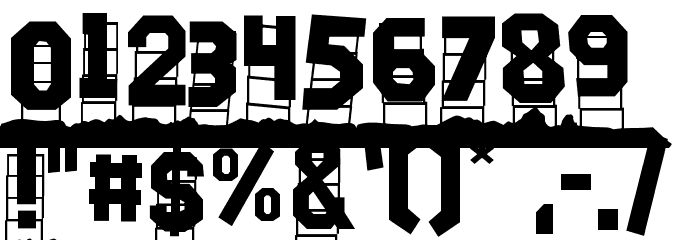 Hollywood Capital Hills Schriftart De Free Fonts Download