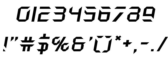 Holo-Jacket Expanded Italic Шрифта ДРУГИЕ символов