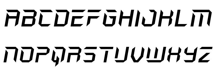 Holo-Jacket Expanded Italic Шрифта ВЕРХНИЙ