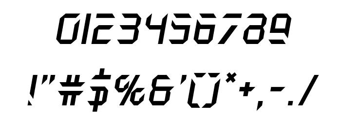 Holo-Jacket Italic Шрифта ДРУГИЕ символов