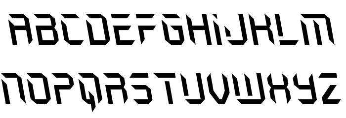Holo-Jacket Leftalic Шрифта строчной