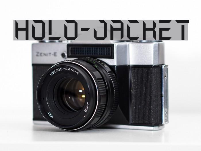 Holo-Jacket Шрифта examples