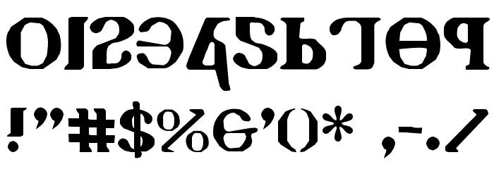 Holy Empire Font OTHER CHARS