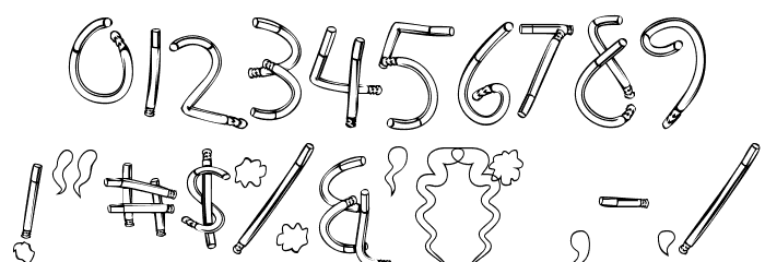 HolySmokes-Regular Font OTHER CHARS