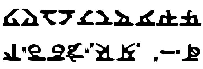 Homeworld Font OTHER CHARS