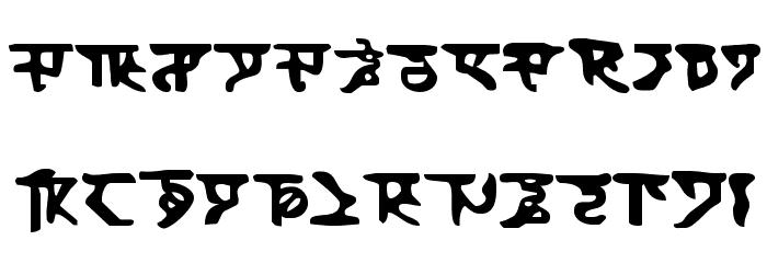 Homeworld Font UPPERCASE