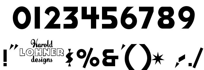 Honest John's Font OTHER CHARS