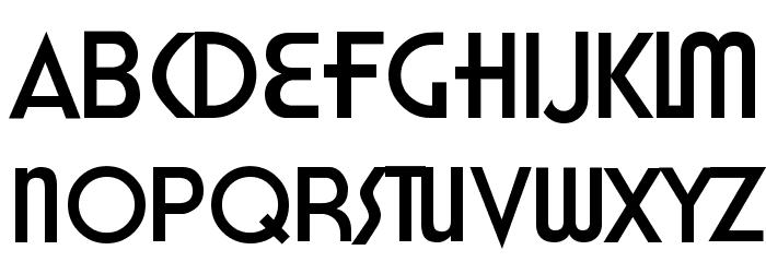 Honest John's Font UPPERCASE