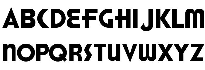 Honest John's Font LOWERCASE