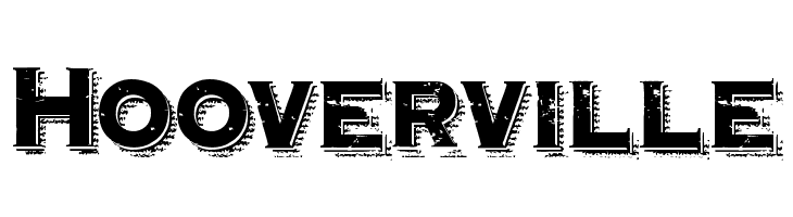 Hooverville  Free Fonts Download