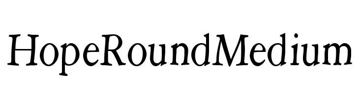HopeRoundMedium  Descarca Fonturi Gratis