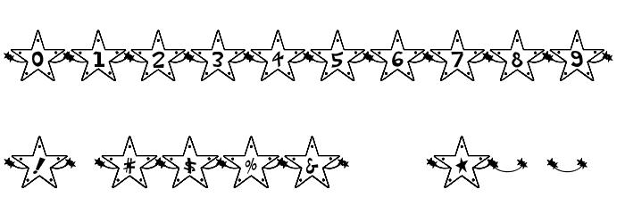 Hoshi Font Fonte OUTROS PERSONAGENS