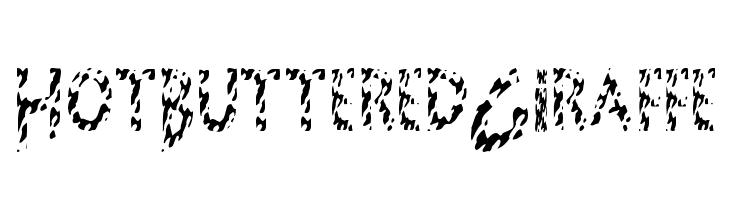 HotButteredGiraffe Font