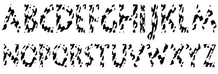 HotButteredGiraffe Font LOWERCASE