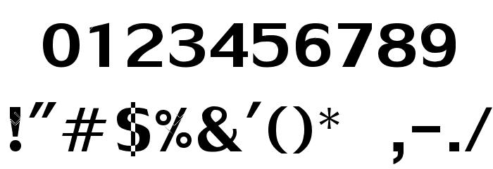 HotDogsNFishNormal Font OTHER CHARS