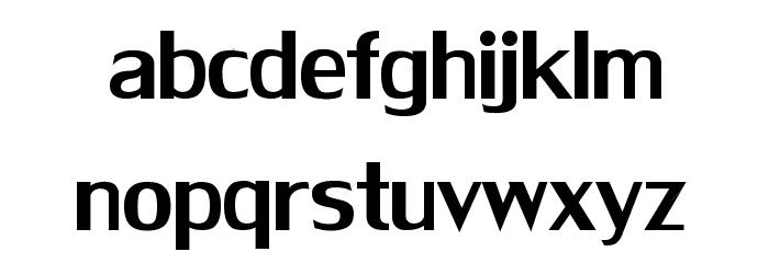 HotDogsNFishNormal Font LOWERCASE