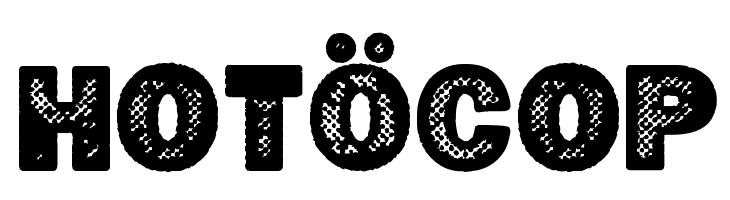 Hot�cop  Free Fonts Download