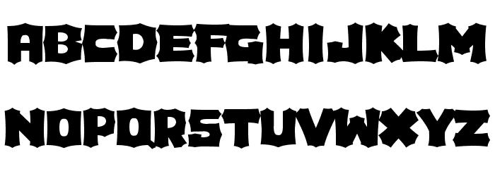 Houdini Font UPPERCASE