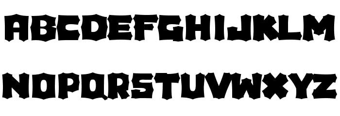Houdini Font LOWERCASE