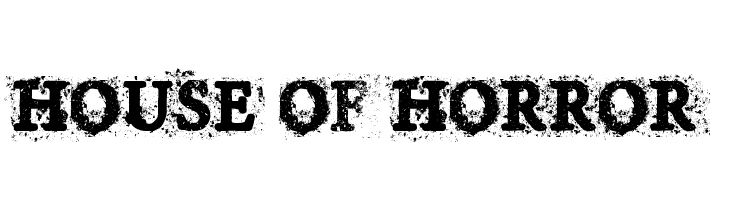House of Horror  Free Fonts Download