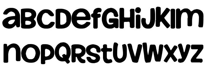 Howser Font UPPERCASE