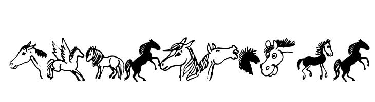horsedings  नि: शुल्क फ़ॉन्ट्स डाउनलोड