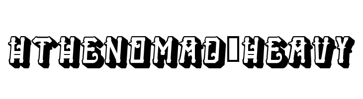HTheNomad-Heavy  Free Fonts Download