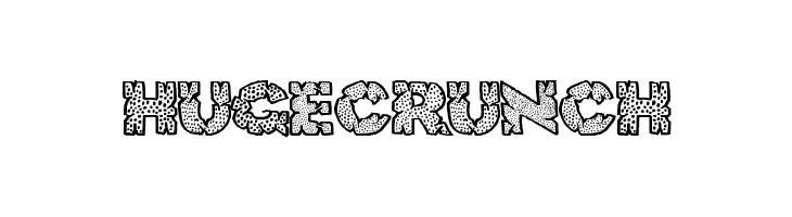 HugeCrunch  لخطوط تنزيل