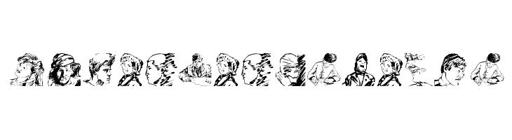 HumanLandscapes  Скачать бесплатные шрифты