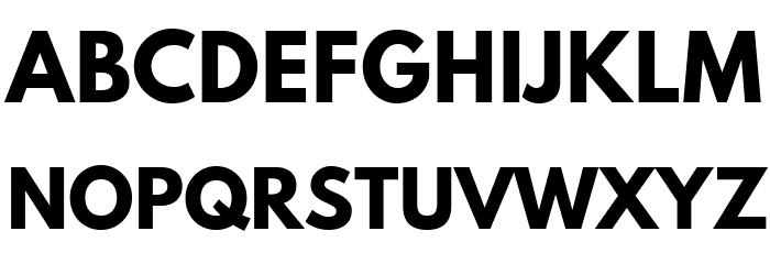 Hussar Bold Font UPPERCASE