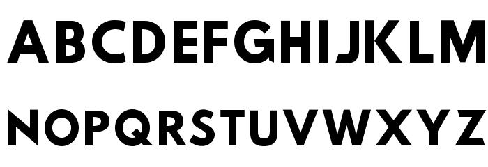 Hussar Tani Font UPPERCASE