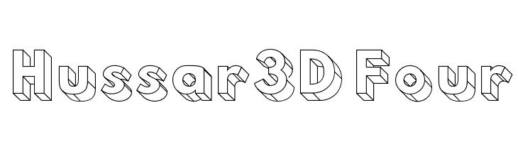 Hussar3D Four  لخطوط تنزيل