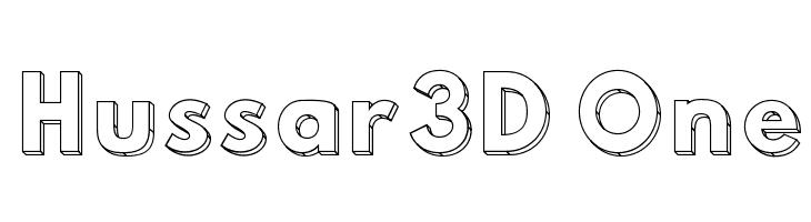 Hussar3D One  لخطوط تنزيل
