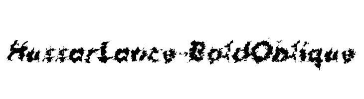 HussarLance-BoldOblique  baixar fontes gratis