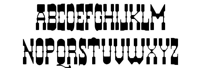 HYERBA Font UPPERCASE