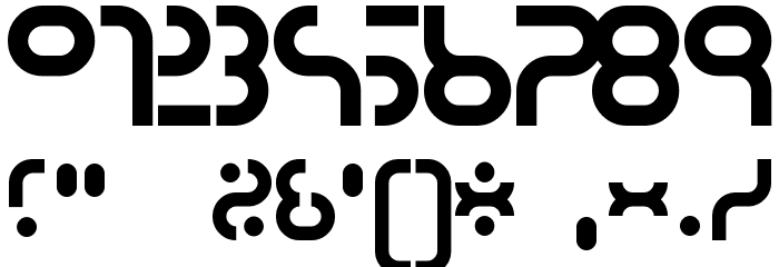 hyper 2000 Font OTHER CHARS