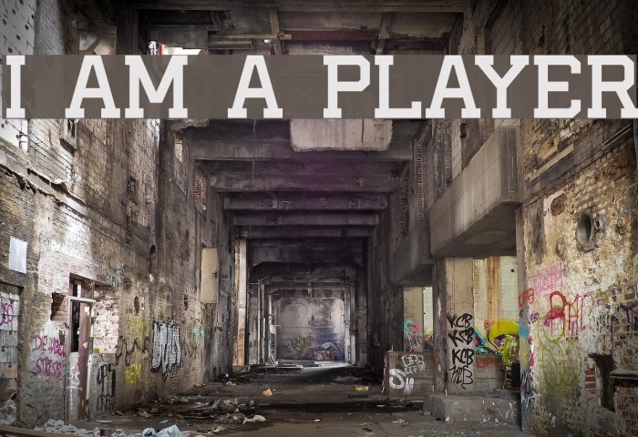 I AM A PLAYER Fonte examples