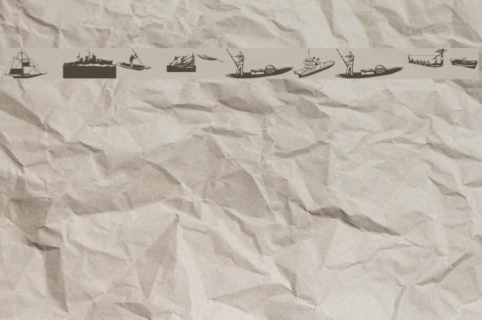 I Am Sailing Font examples