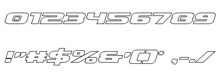 Iapetus Outline Italic फ़ॉन्ट अन्य घर का काम